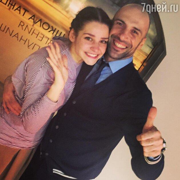 Глафира Тарханова, Евгений Папунаишвили
