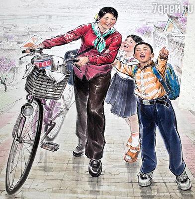 «И подо льдом течет вода». Современное искусство Северной Кореи