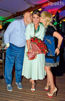 Валерия и Иосиф Пригожин поздравляют Аню с 20-летием