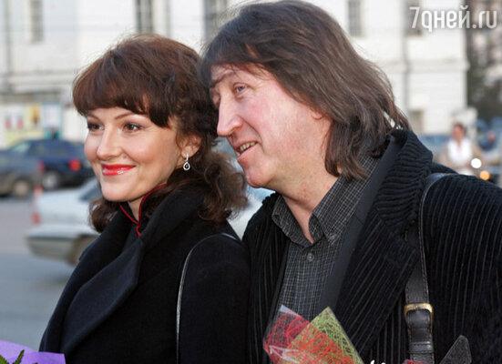 Олег Митяев с супругой Мариной Есипенко