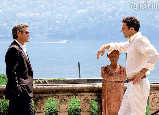 С Джорджем Клуни в фильме «Двенадцать друзей Оушена». 2004 г.