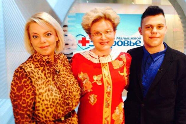 Яна Поплавская вместе со своим младшим сыном Никитой приняла участие в программе Елены Малышевой на «Первом канале»