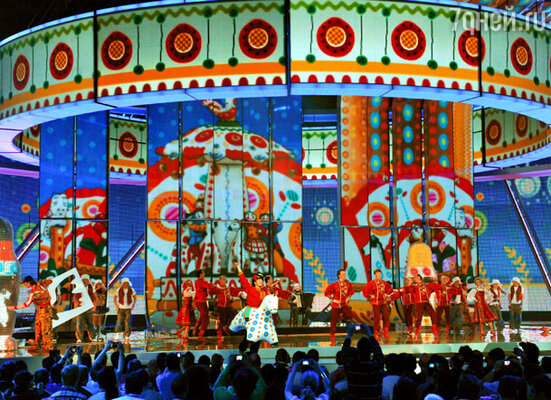 Открытие второго полуфинала «Евровидения-2009»