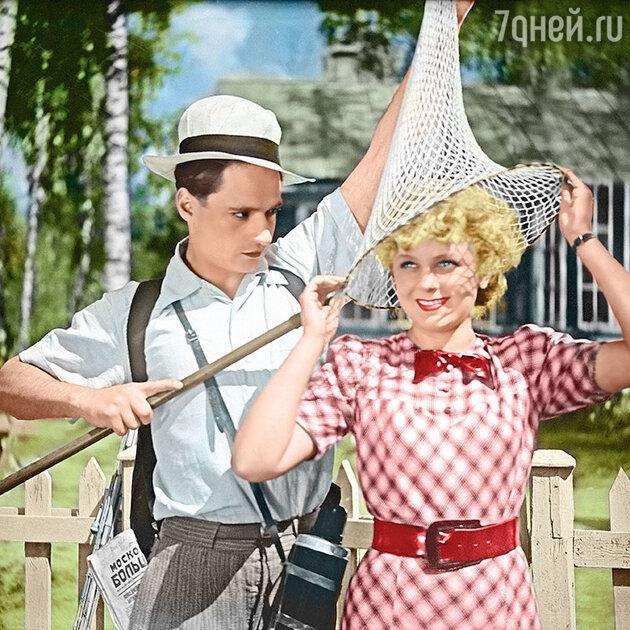 Людмила Целиковская с Павлом Шпрингфельдом