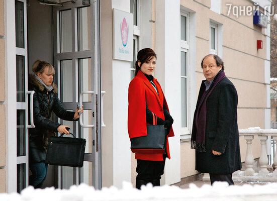 Алена Хмельницкая и Дмитрий Астрахан