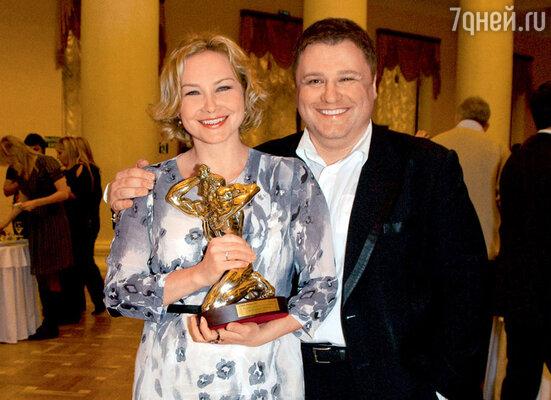 Лауреат «ТЭФИ-Регион» Юлия Караваева ителеведущий Сергей Майоров