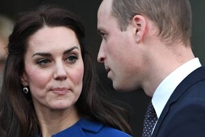 Герцогиня Кэтрин и принц Уильям проведут врозь день Святого Валентина