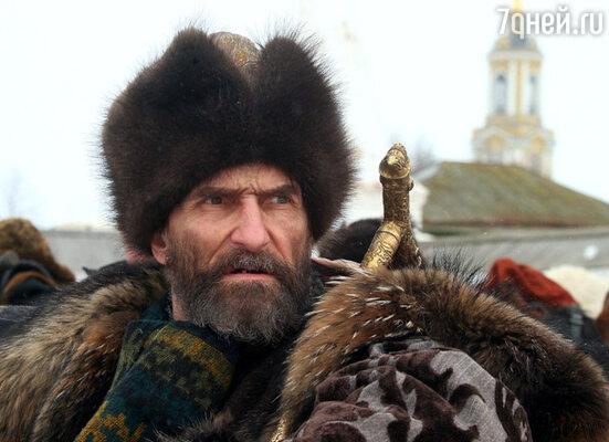 Кадр из фильма «Царь». В роли Ивана Грозного — Петр Мамонов