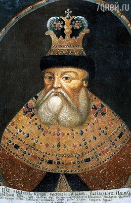 Одно из первых изображений царя Ивана IV Грозного - портрет-парсуна. Конец XVII в