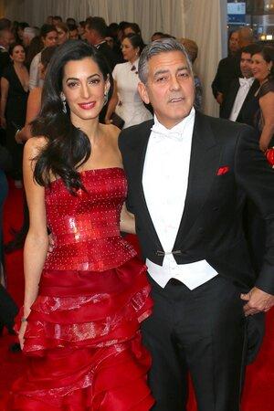 Джордж Клуни и Амаль Аламудин