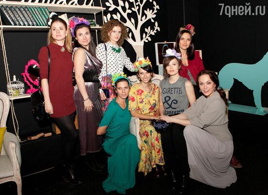 Известные ценительницы прекрасного стали гостями показа уникальной коллекции авторских украшений Nastia Olgan