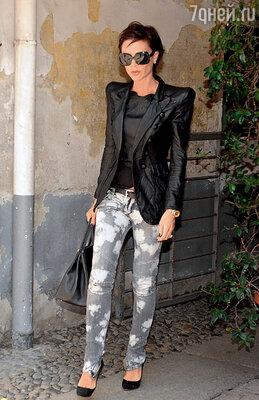 На прогулке в Милане. 2009 г.