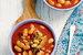 Томатный суп с фасолью и свининой