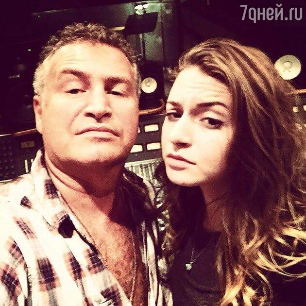 Леонид Агутин с дочерью Лизой