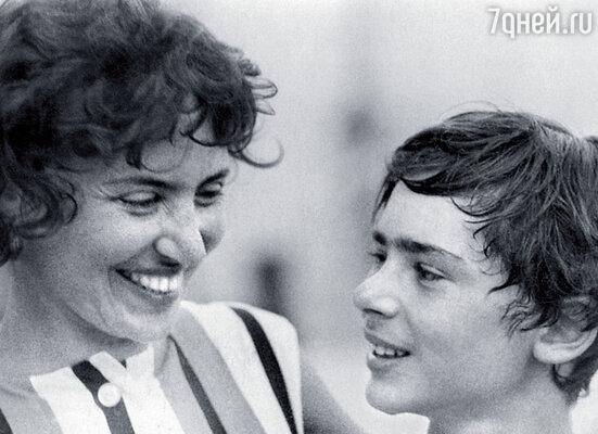 Владимир Кваша с мамой