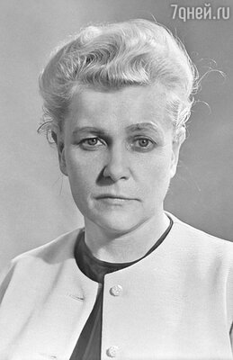 Министр культуры Екатерина Фурцева