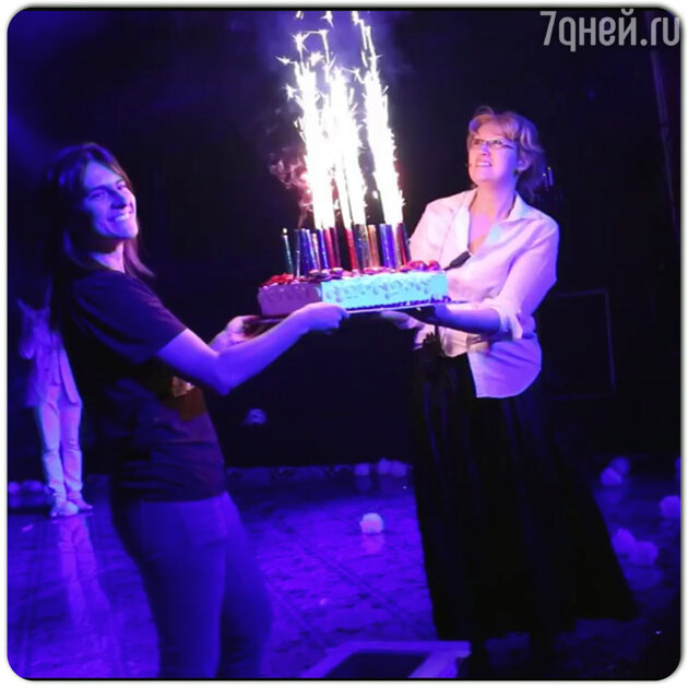 Татьяна Лютаева отметила день рождения
