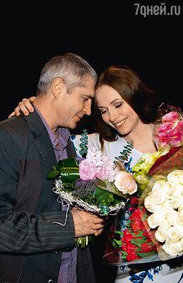 Екатерина с мужем Владимиром Абашкиным