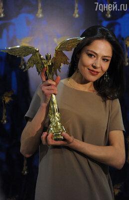 1 апреля пройдет вручение кинопремии «Ника». (На фото: лауреат премии «Ника» 2012 года Елена Лядова)