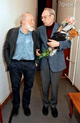 Юрий Норштейн иАлексей Баталов