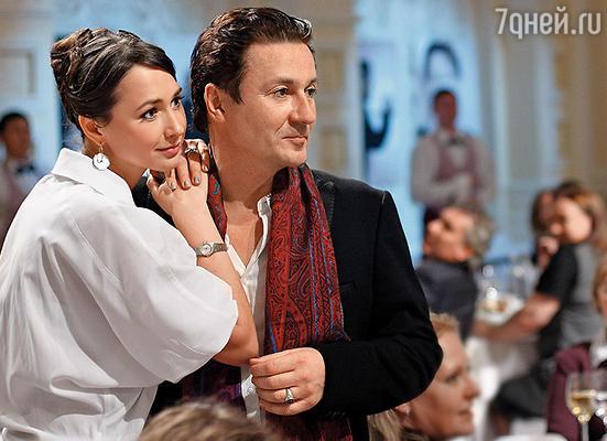 Олег и Анастасия Меньшиковы