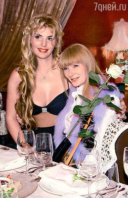 Именинница с мамой Натальей Александровной