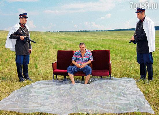 Все произошло, как мне сказали, на съемках очередной картины. Андрей ушел на лету... Кадр из последнего фильма А. Краско «Я остаюсь»