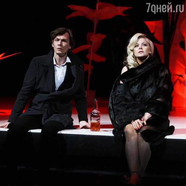 Филипп Янковский и Ирина Пегова