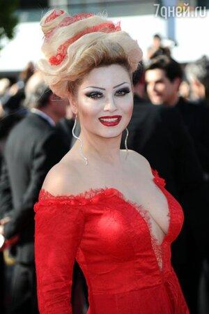 Лена Ленина на премьере фильма «Прошлое» в рамках Каннского кинофестиваля, 2013 год