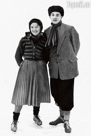 Марк Захаров с женой Ниной Лапшиновой