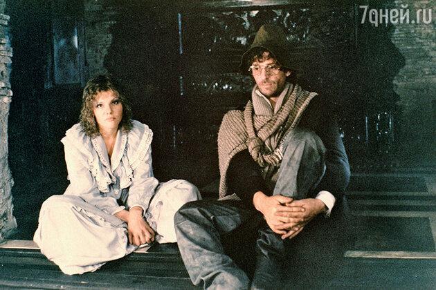Александра Захарова и Александр Абдулов в фильме «Убить дракона». 1988 г.