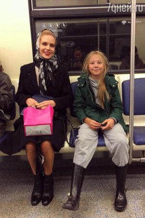 Наталья Ионова с дочкой Лидией