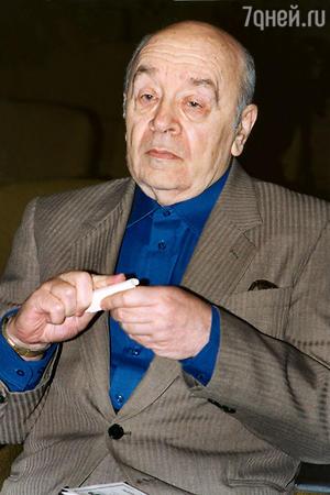Леонид Броневой отмечает 85-летие