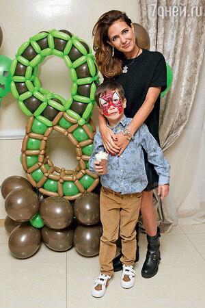 Екатерина Климова с сыном