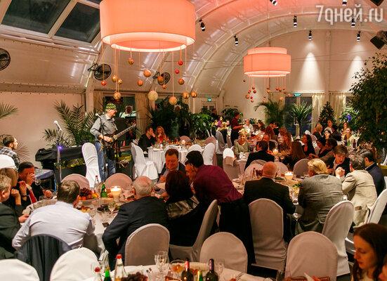 «Зимний ужин со Сталиком Ханкишиевым» на Зеленой террасе ресторана прошел в лучших традициях теплого восточного гостеприимства
