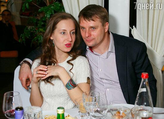 Александр Носик с невестой Ольгой