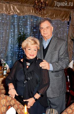 Долорес Кондрашова с супругом Иосифом Гольдманом