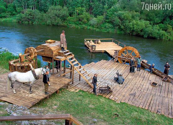 Картину снимали на реке Чусовая, где еще в XIX веке добывали золото