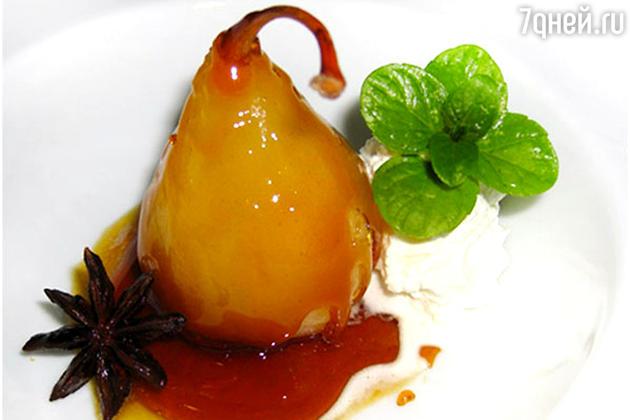 Пряные груши: рецепт десерта