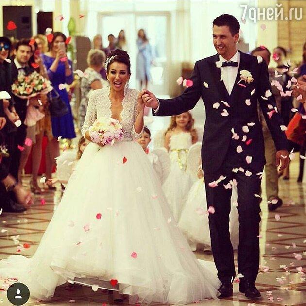 Анна Граческая с мужем