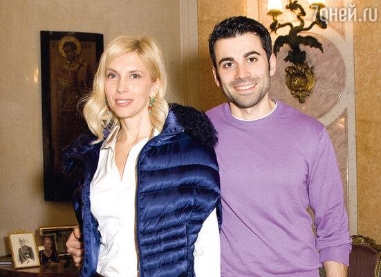 Алена Свиридова и ее спутник Давид