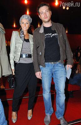Саша Савельева с мужем