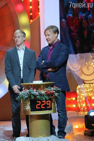 Дмитрий Харатьян с сыном Иваном