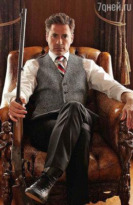Роберт Дауни-младший в роли Шерлока Холмса. Фильмы «Шерлок Холмс» и «Шерлок Холмс. Игра теней»