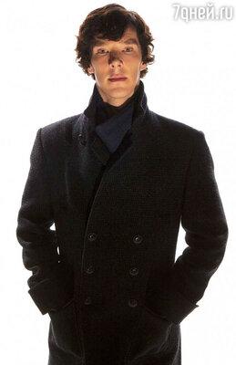 Бенедикт Камбербэтч в роли Шерлока Холмса. Сериал «Шерлок»