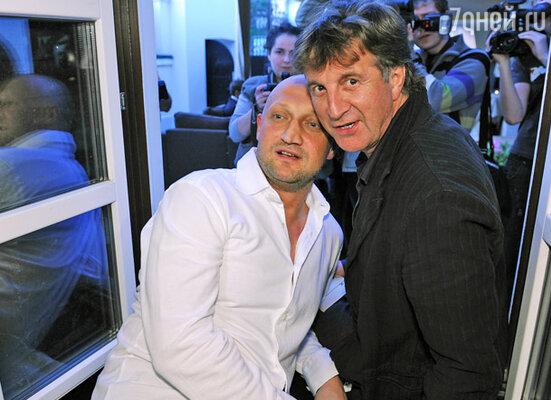 Гоша Куценко и Леонид Ярмольник