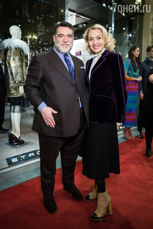Михаил Куснирович и Екатерина Моисеева