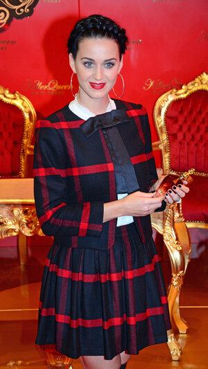 Кэти Перри на презентации своего парфюма в Берлине