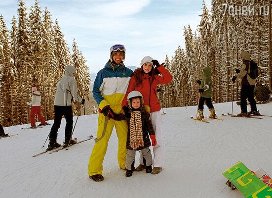 На горнолыжном курорте мы с Максом и Алей впервые оказались под одной крышей
