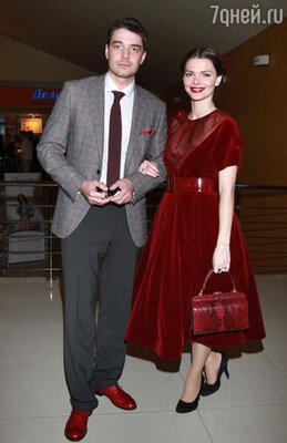 На премьере фильма «Пять невест». Москва, 2011 г.